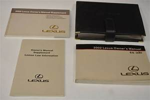 2002 Lexus Es 300 Owners Manual Guide Book Set With Case