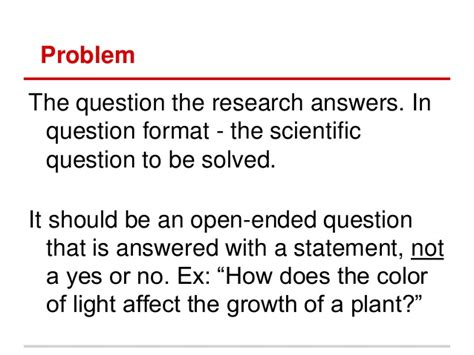 does the color of light affect plant growth sc fair written report exp design