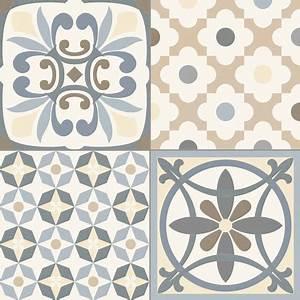 carrelage style ancien ciment gris heritage grey 33x33 cm With carreaux de ciment 10x10