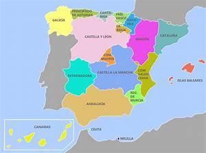 Aprender las comunidades autónomas de España