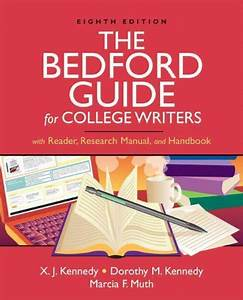 9780312452773  The Bedford Guide For College Writers With
