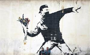 Offbeat street artist Banksy's work featured at Istanbul ...