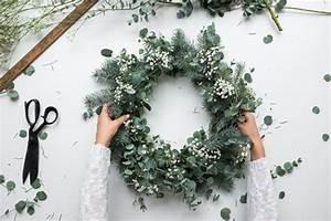 Faire Une Couronne De Noel : les couronnes de no l ~ Preciouscoupons.com Idées de Décoration