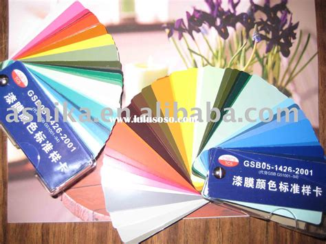 paint color card paint color card manufacturers in lulusoso page 1