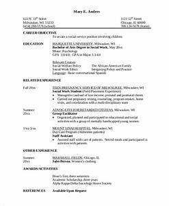 7 sample career objective statements sample templates With career objective social worker resume