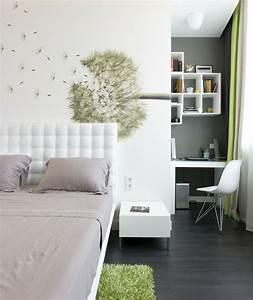 Deko Für Schlafzimmer : 77 deko ideen schlafzimmer f r einen harmonischen und einzigartigen schlafbereich comfortable ~ Orissabook.com Haus und Dekorationen