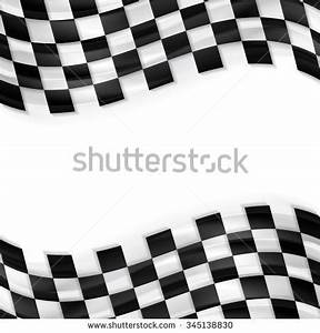 Vector Background Checkered Flag Formula One Stock Vector ...