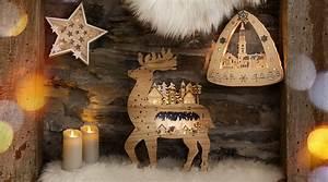 Qvc Weihnachten 2018 : weihnachtliche holzdekorationen online entdecken ~ Watch28wear.com Haus und Dekorationen