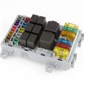 Automotive Fuse and Relay Box