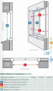 Comment Mesurer Une Fenetre : prendre les mesures d une fen tre neuf ou r novation ~ Dailycaller-alerts.com Idées de Décoration