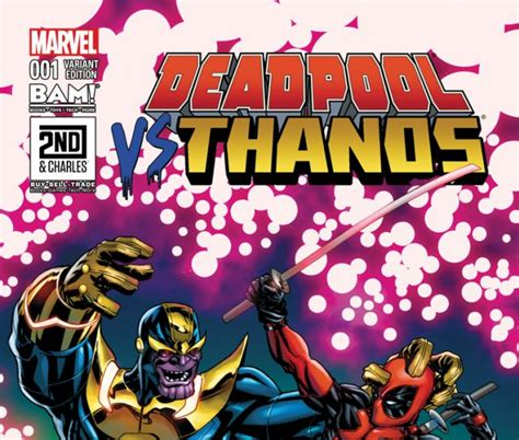 Deadpool Vs Thanos (2015) #1 (mckone Bam Variant