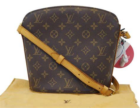 louis vuitton monogram drouot shoulder bag