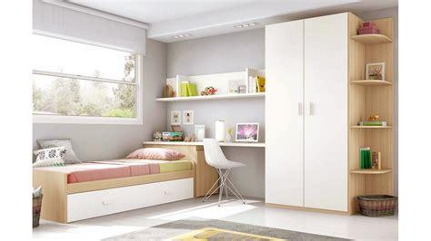 chambre moderne ado moderne avec lit gigogne glicerio so nuit