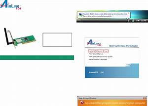 Airlink101 Network Card Awll3028 User Guide