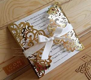 beauty and the beast wedding invitation gold mirror With beauty and the beast mirror wedding invitations