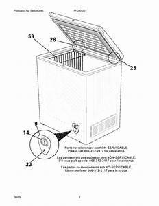 Frigidaire Ffc0513d Wire Deep Freezer Basket  White