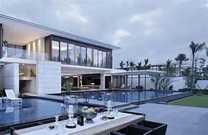 Moderne Häuser Mit Pool : moderne h user bauen vielfalt und harmonie in der modernen architektur ~ Markanthonyermac.com Haus und Dekorationen
