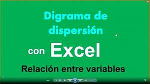 Diagrama De Dispersion Con Excel