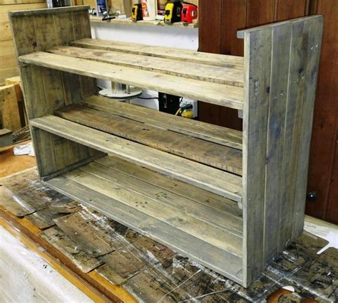 wood pallet shoe rack pallets pro