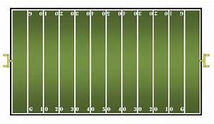 math center ideas With blank football field template