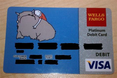 well fargo card design i like my new debit card design alot pics
