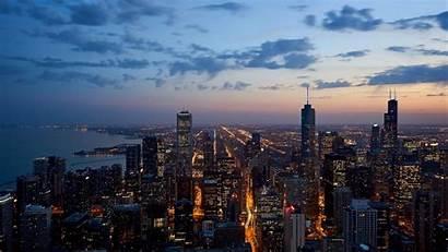 Skylines Cities Wallpaperaccess Skyline Chicago Desktop Computer