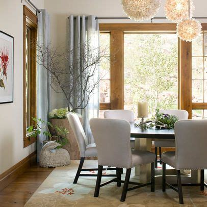 room with natural wood trim that still looks light and