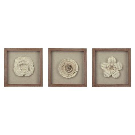 3 pack framed paper flower 11x11 target