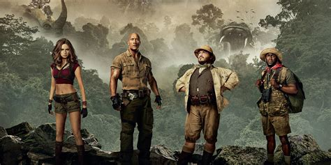 Jumanji Welcome To The Jungle Writers Back For Sequel
