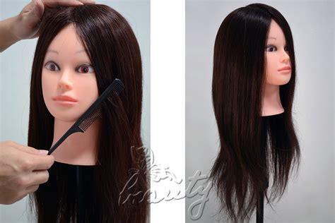 All 100% Real Human Hair Training Head Mannequin Head