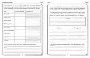Life Skills Activity Worksheets
