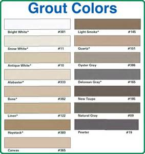 Unsanded Tile Grout Home Depot by Pin Grout Color Chart On Pinterest