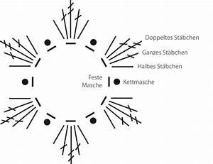 Häkelblumen Anleitung Zum Ausdrucken : einfache h kelblumen mit doppelst bchen stricken und ~ Lizthompson.info Haus und Dekorationen