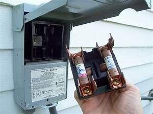 Air Conditioner Fuse Box Outside