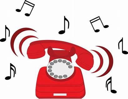 Clipart Ringing Phone Telephone Rang Ring Sound