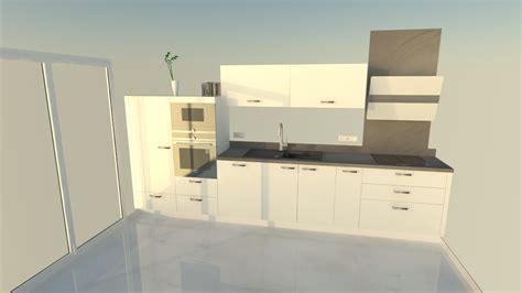 cuisine projet projet cuisine salon linaire avec grand lot central