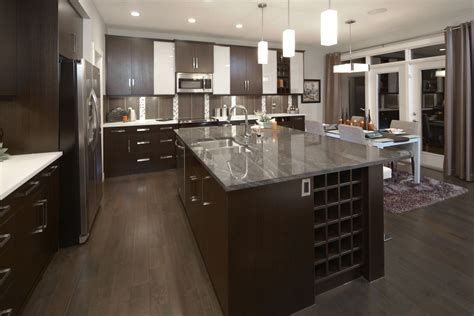 Kitchen Organization Calgary by The Stanton Kitchen In Mahogany Trico Homes Check Out