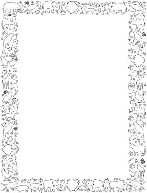 Disegno Cornici by Cornici Quadri Disegni Per Bambini Da Colorare