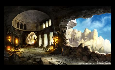 Artwork Background by Background Art Video Games Artwork
