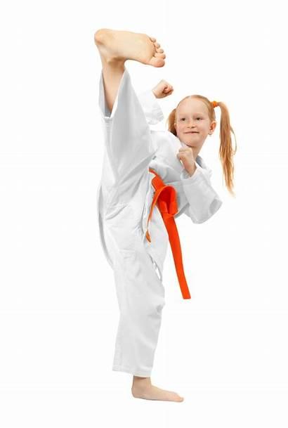 Karate Arts Martial Feet Martiaux Female Fille