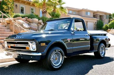 1968 chevrolet c10 stepside rods and choppers inc st george utah