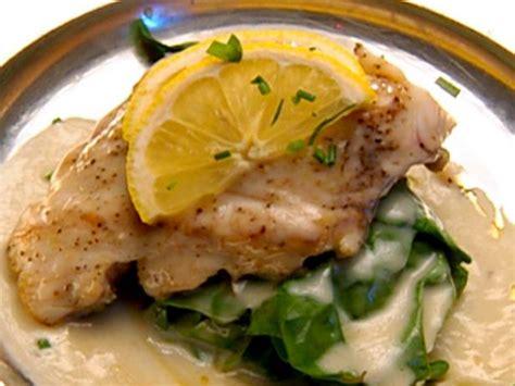 pan seared rockfish  lemon beurre blanc recipe