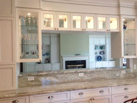 see through kitchen cabinet doors sided glass door cabinets to see it all 7879