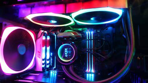building  glowing rgb pc gamespot