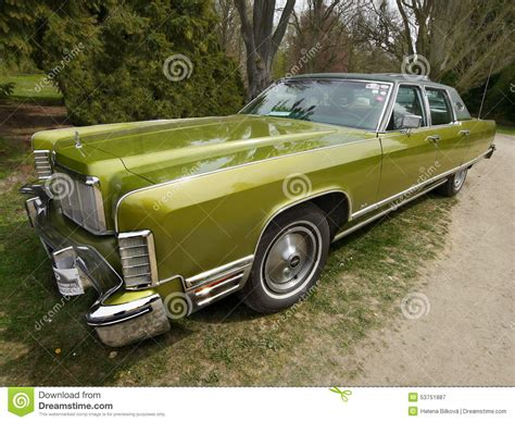 vintage american classic car lincoln continental