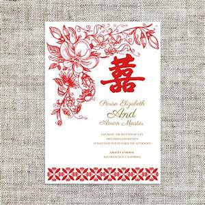 diy printable editable chinese wedding invitation card With free printable chinese wedding invitations
