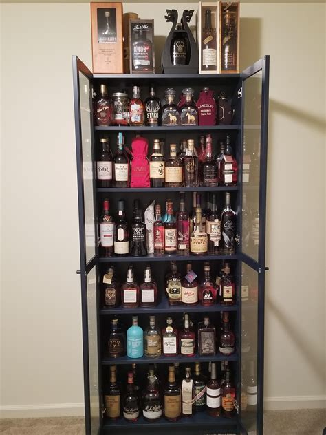 whiskey cabinet   share whiskyporn