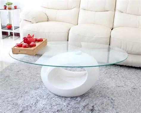 console bureau extensible deco in table basse design blanche en verre maxus
