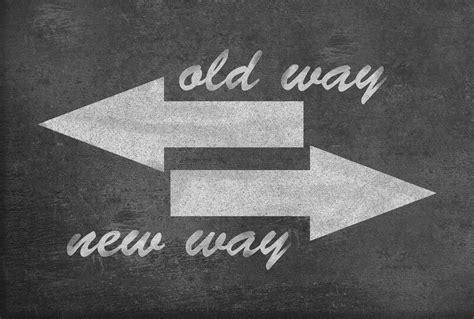 Old Way Vs New Way Bmim