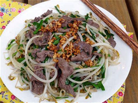 cuisiner les germes de soja recette boeuf sauté aux germes de soja et échalotte